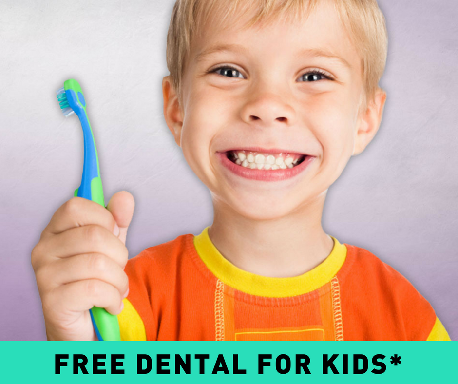 FREE DENTAL FOR KIDS